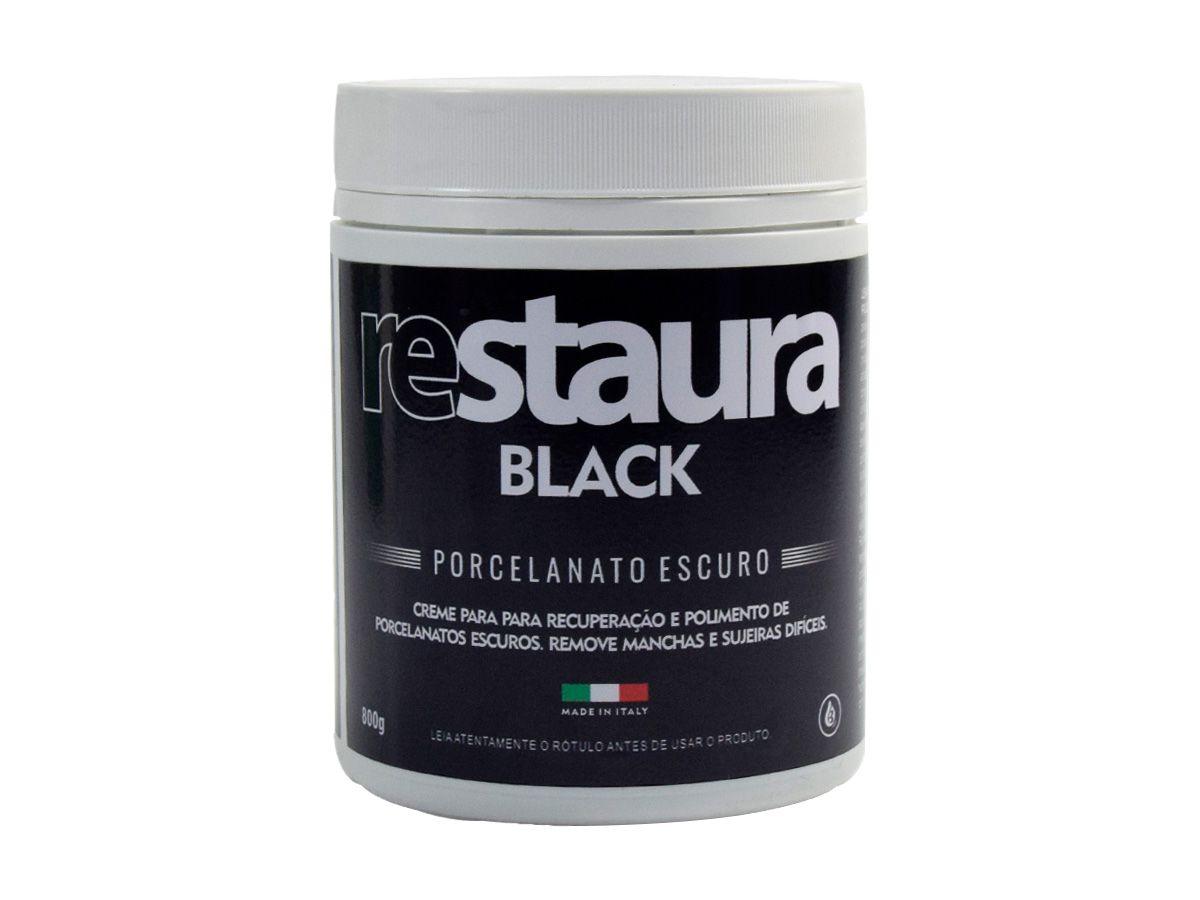 Restaura Black Porcelanato Escuro - Bellinzoni 800g  - COLAR