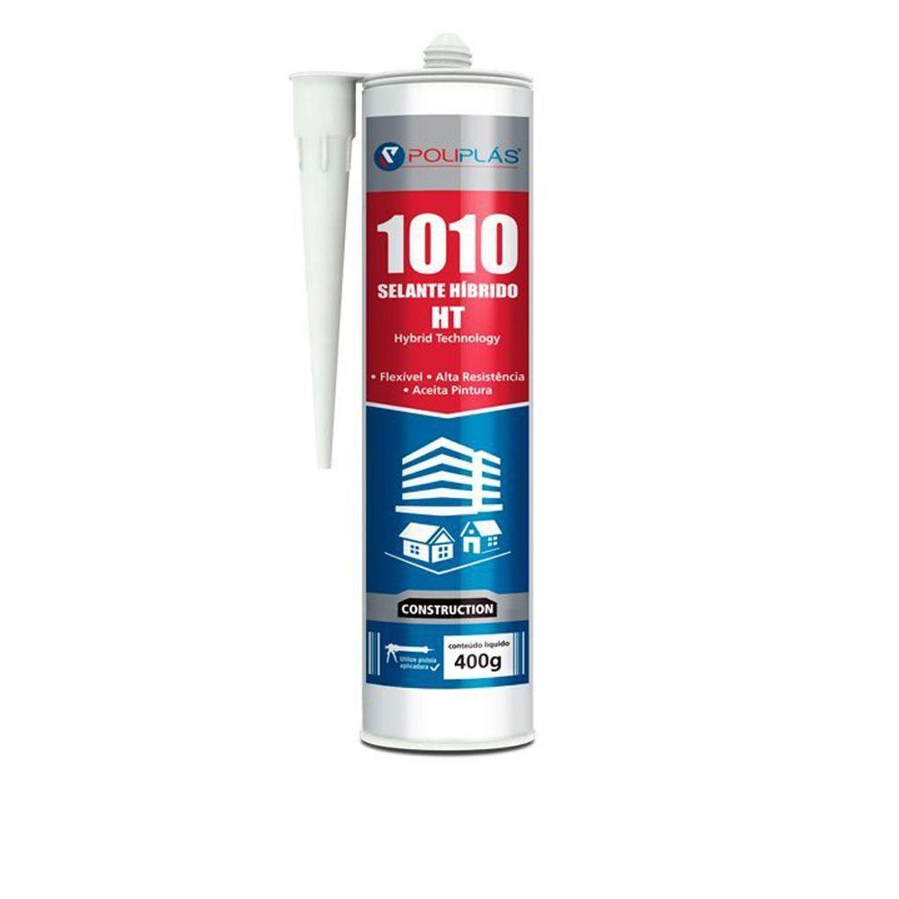 Selante Poliplás Híbrido 1010 HT Alta Resistência 400gr  - COLAR