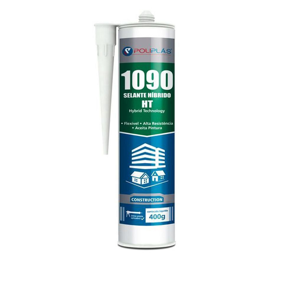 Selante Poliplás Híbrido 1090 HT Alta Resistência 400gr  - COLAR