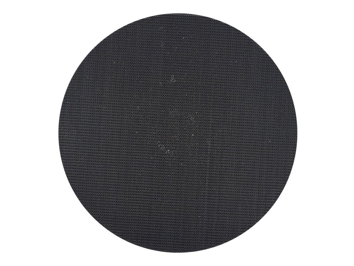 """Suporte de Lixa Preto 5"""" com Velcro - PROFIX  - COLAR"""