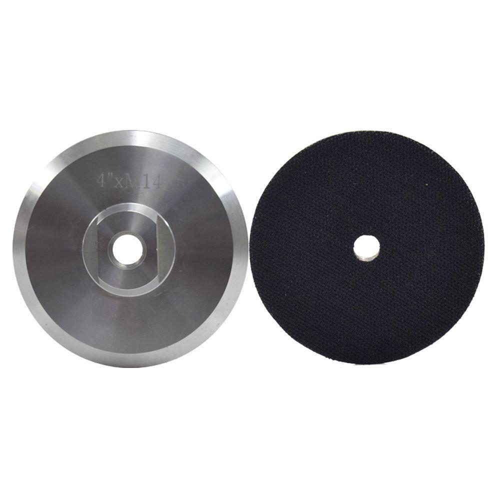 Suporte de Lixa Rígido Com Velcro em Alumínio 100mm  - COLAR
