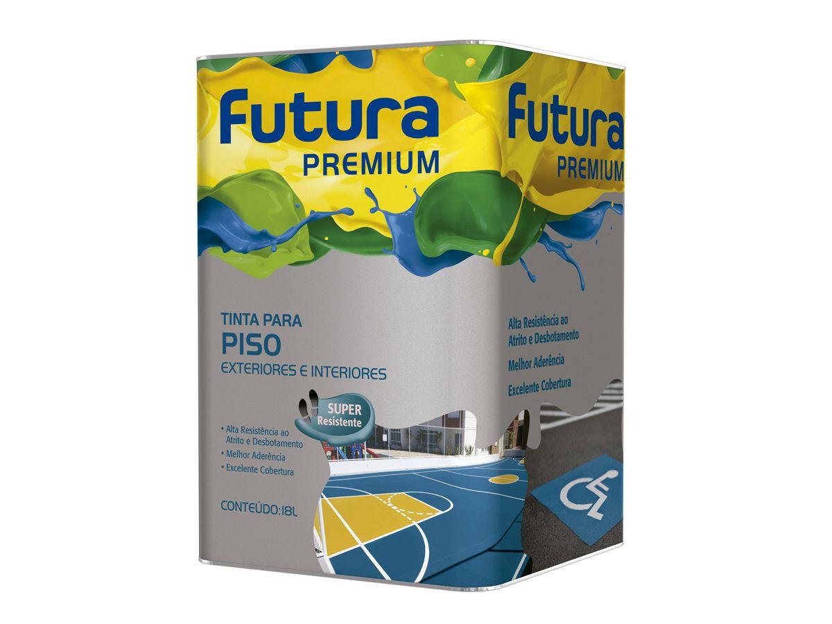 Tinta para Piso Futura - Premium 18 Litros  - COLAR