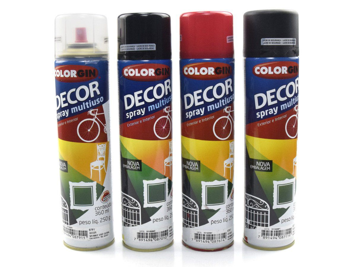 Tinta Spray Colorgin Decor Multiuso 360ml  - COLAR