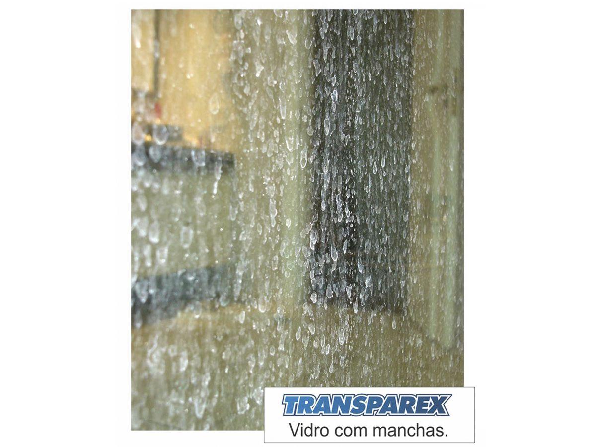 Transparex 100ml e 385ml - Limpador e Removedor de Manchas em Vidros   - COLAR