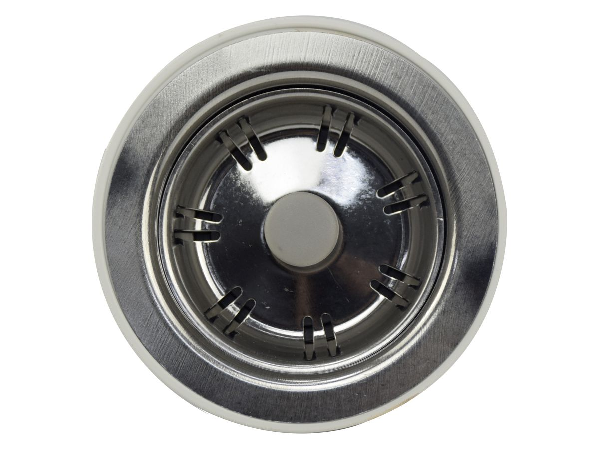 "Válvula 3 1/2"" Metal Aço 304 - Pádova  - COLAR"