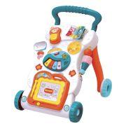 Andador e Empurrador Musical Infantil Bebê BW061
