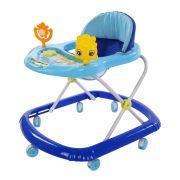 Andador Infantil de Plástico com Brinquedo Acoplado BW062AZ - Azul