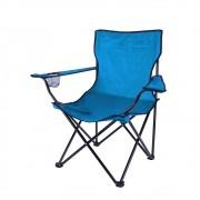 Cadeira de Camping Dobrável IWCDC - Azul Claro