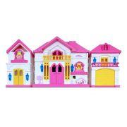Casinha de Boneca Infantil 15 Peças BW043