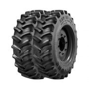 Combo com 2 Pneus 18.4/15.30 Firestone Super All Traction 23° SAT23 R1 10 Lonas Agrícola