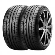 Combo com 2 Pneus 255/40R18 Bridgestone Potenza S001 95Y RUN FLAT (Original BMW Série 3)