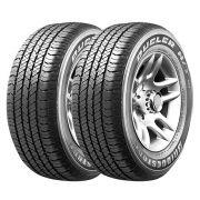 Combo com 2 Pneus 255/60R18 Bridgestone Dueler H/T 684 III Ecopia 112T Amarok