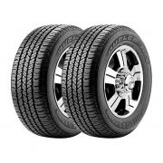 Combo com 2 Pneus 265/60R18 Bridgestone Dueler H/T 684 II Ecopia 110T