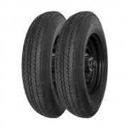 Combo com 2 Pneus 600-16 Pirelli Sempione SE58 6 Lonas (Jipe, Willys)