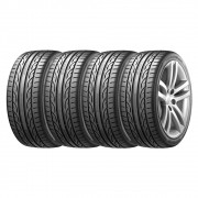 Combo com 4 Pneus 235/50R18 Hankook Ventus V12 Evo 2 K120 101Y (Mercedes Bens GLA / Q3 / Genesis) #