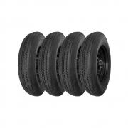 Combo com 4 Pneus 600-16 Pirelli Sempione SE58 6 Lonas (Jipe, Willys)