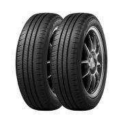 Combo de 2 Pneus 185/60R15 Dunlop Enasave EC300+ 84H (Original VW UP / Toyota)