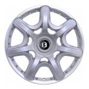 Jogo de 4 Rodas de Liga-Leve Aro 17 Zunky ZK-580 Multi (4x98 à 4x108) (Original Bentley) - COR: PRATA DIAMANTADA