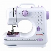 Máquina de Costura Portátil Multifuncional Bivolt IWMC505