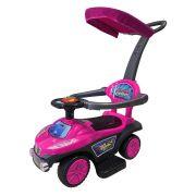 Mini Carrinho de Passeio Infantil com Empurrador e Capota BW060RS - Rosa