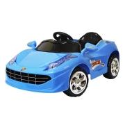 Mini Carro Elétrico 6V BW005AZ - Azul (Modelo Ferrari)