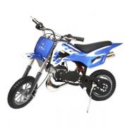 Mini Moto Cross Dirt 49cc Gasolina WVDB006A - Azul