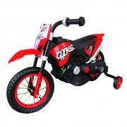 Mini Moto Cross Elétrica Infantil BW083VM - Vermelha