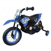 Mini Moto Cross Elétrica Infantil BW083AZ - Azul