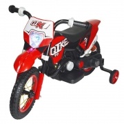 Mini Moto Cross Elétrica Infantil 6V BW083VM - Vermelha