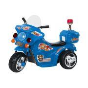 Mini Moto Elétrica Police BW006 - Azul