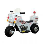 Mini Moto Police Miniway BW002 6V - Branca