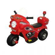 Mini Moto Police Miniway BW002 - Vermelha