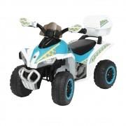 Mini Quadriciclo Elétrico Infantil 6V BW129BR - Branco