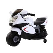 Mini Moto Elétrica Infantil BW044 6V - Branca