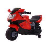 Mini Moto Elétrica Infantil BW044 6V - Vermelha