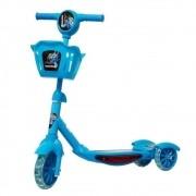 Patinete Infantil com 3 Rodas e Cesta BW010AZ - Azul