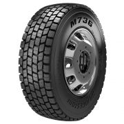 Pneu 275/80R22,5 Bridgestone M736 Borrachudo 16 Lonas 149/146L (22,0mm)