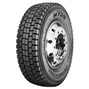 Pneu 295/80R22,5 Bridgestone M729 Borrachudo 152/148M 16 Lonas (23,6mm)