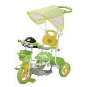 Triciclo Infantil 2 em 1 com Capota BW003 - Verde