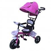 Triciclo Infantil com Capota BW084RS - Rosa