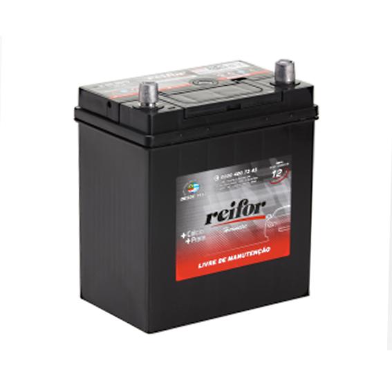Bateria Selada Reifor - Linha Hermetic: Lado Direito - 40 Ah