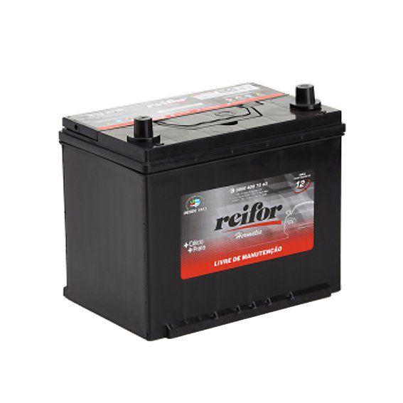 Bateria Selada Reifor - Linha Hermetic: Lado Direito - 75 Ah