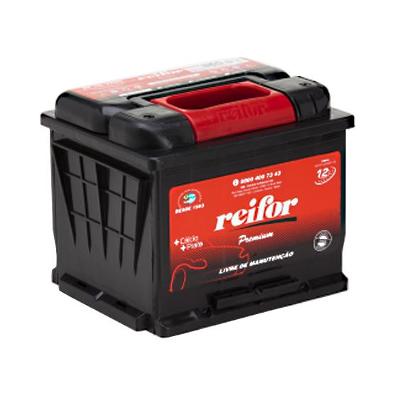 Bateria Selada Reifor - Linha Premium: Lado Direito - 45 Ah