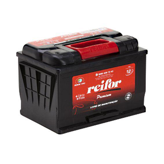 Bateria Selada Reifor - Linha Premium: Lado Esquerdo - 60 Ah