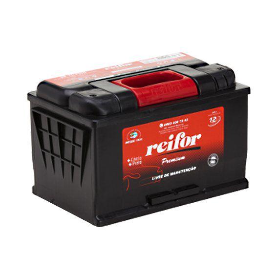 Bateria Selada Reifor - Linha Premium: Lado Esquerdo - 70 Ah
