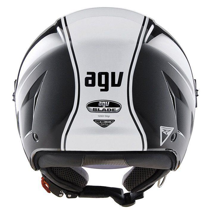 Capacete AGV Blade Start Cor: Preto Branco