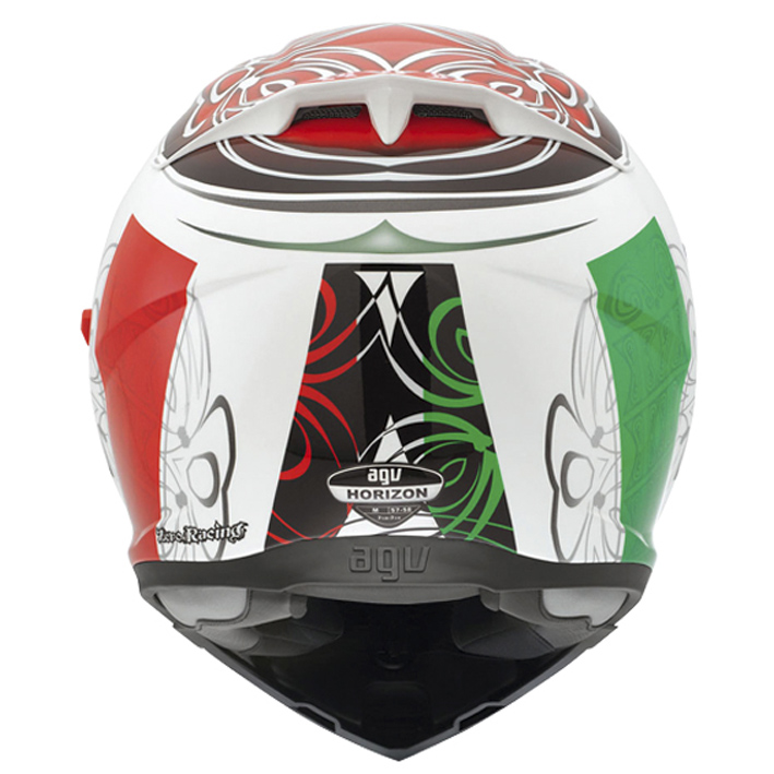 Capacete AGV Horizon Absolute Italy - Tamanho: 56
