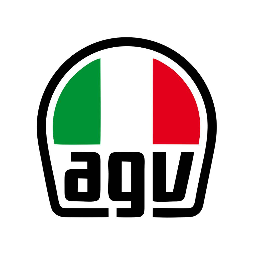 Capacete AGV K-3 Valentinos House Cor: Branco Vermelho Verde