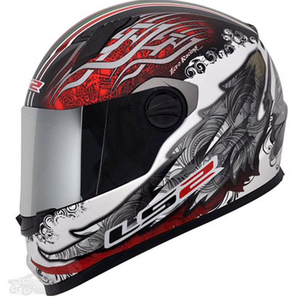Capacete LS2 FF358 Duality Italy Cor: Colorido