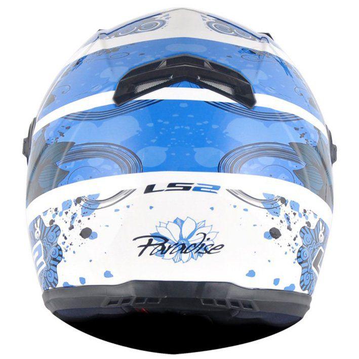 Capacete LS2 FF358 Paradise Cor: Azul
